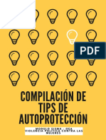 09 08 2019 UV Compilación de tips sobre autoprotección