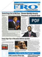 Washington D.C. Afro-American Newspaper, January 22, 2011