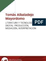 Albaladejo - Lit digital producción, mediación, interpretación