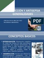 DESINFECCIÓN Y ANTISEPSIA GENERALIDADES