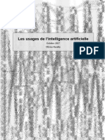 Usages intelligence artificielle Olivier Ezratty