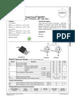FDD8424H-92711 - Transistor de efeito de campo