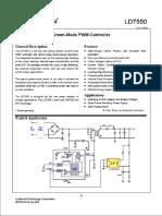LD 7550 -- Controlador PWM