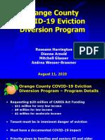 Orange County Eviction Diversion Program