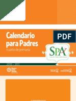 Calendario para Padres - Cuarto de Primaria