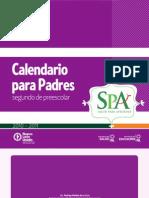 Calendario para Padres - Segundo de Preescolar