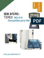 MANUAL INSTALACIÓN SEMÁFORO TEREX   RCI 510