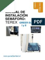 MANUAL INSTALACION SEMÁFORO TEREX   GREER ELEMENT VERSIONES 1 Y 2
