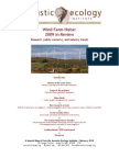 Wind Farm Noise 2009 Overview