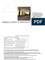 AMERICA LATINA Y LA CRISIS DEL 29