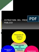 3 ESTRUCTURA DEL PRESUPUESTO PUBLICO