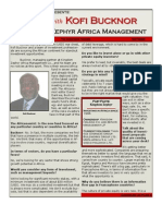 Kofi Bucknor Private Equity Africa and Risk