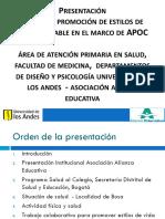 Presentación-AAE-2012 salud al colegio