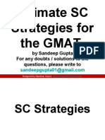 Sentence Correction - the best resource for GMAT SC
