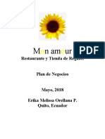 ORELLANA ERIKA - PLAN DE NEGOCIOS