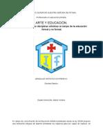 ARTE Y EDUCACIÓN.
