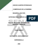 RETOS COMERCIALES DE LA PANDEMIA