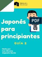 Guía 2 japones