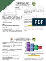 Plan de Mejoramiento Química II Periodo