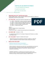 Informacion para MAPA CONCEPTUAL ROL DEL REGENTE EN FARMACIA