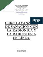 Curso Avanzado de Sanación Con La Radiónica y La Radiestesia en Línea-Ruggero Moretto