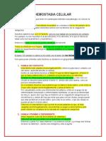 HEMOSTASIA CELULAR (1)