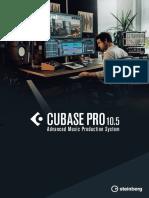 Cubase Pro 10.5 manual