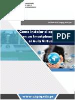 Configurar Aula Virtual UNPRG en el Smartphone