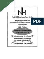 Nob Hill Business Association Social