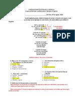 Evaluación sobre métrica grado 4°