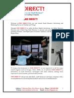 2011 SME DIRECT Instore Billboard Information