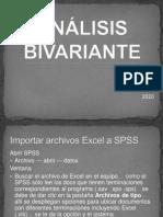PRE-ANÁLISIS BIVARIANTE EXPLICATIVO 2020