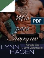 Lynn Hagen - Manada de Brac Siguiente Generaci+¦n 05 - M+¡o para siempre