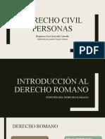 2. Derecho Romano