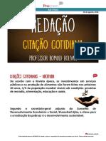 Citação cotidiana - Redação - Prof. Romulo Bolivar.pdf