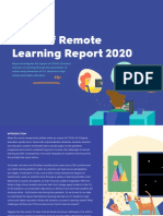 Introducing Quizlet's State of Remote Learning Report 2020. Key Insights for Back-to-School