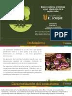 Especies claves, endemicas y aves migratorias de la región Caribe
