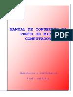 MANUAL DE CONSERTOS DA FONTE DE MICRO COMPUTADOR