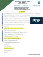 FICHA DE COMUNICACIÓN   CIClO INTERMEDIO N° 08