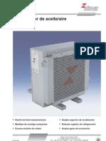 Series BLK - Refrigerador aceite_aire