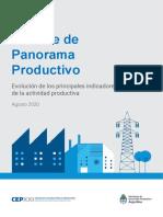 Informe de Panorama Productivo