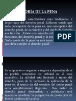 Teoría de la Pena, Pricipio de Legalidad y Culpabilidad