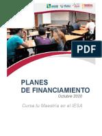 Brochure Financiamiento IESA 2020
