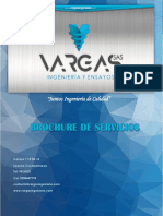 Brochure de Servicio Vargas Ingenieria y Ensayos S.A.S