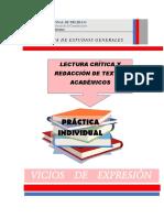 6. PRACTICA INDIVIDUAL VICIOS DE EXPRESION