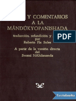 Karika y comentarios a la Mandukyopanishad