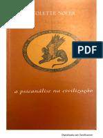 A psicanálise na civilização - Colette Soler [lacanempdf].pdf