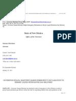 Executive Order 2011-006