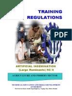 TR - Artificial Insemination (Large Ruminants) NC II.doc