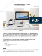 Python for Finance — The Complete Beginner's Guide _ by Behic Guven _ Jul, 2020 _ Towards Data Science.pdf